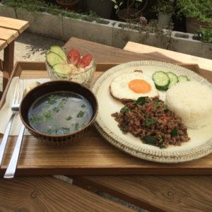 【日曜昼枠のお店紹介】Thai cafe & Lunch FANDY